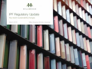 IPF Regulatory Update