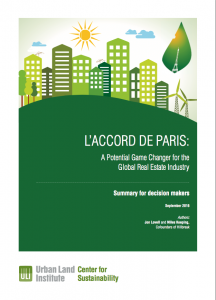 ULI Report L'Accord de Paris