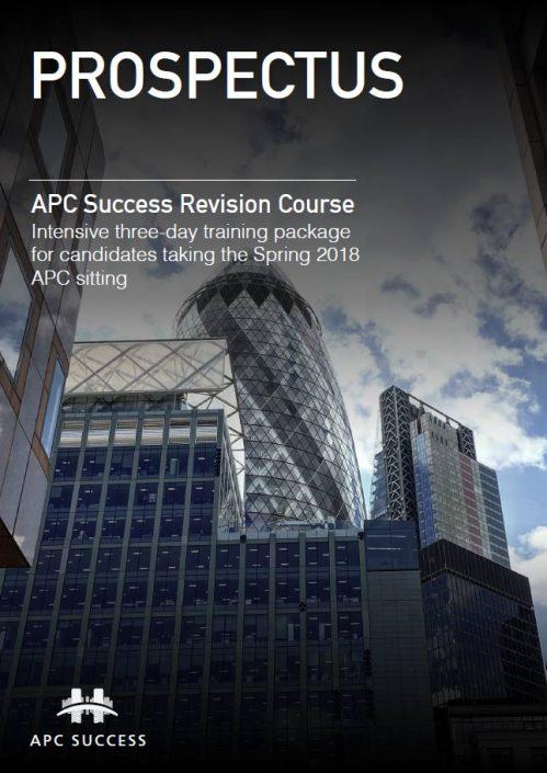 APC Revision Course Prospectus Thumb