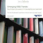 Emerging ESG Trends