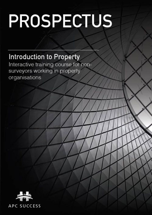 Introduction To Property Training Course Prospectus Thumb