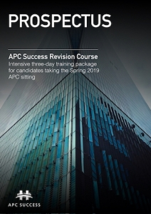APC SUCCESS Spring 2019 Prospectus