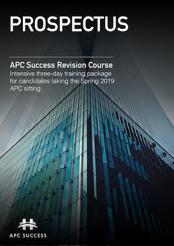 APC SUCCESS Spring 2019 Prospectus