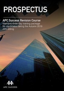 APC SUCCESS Autumn 2019 Prospectus