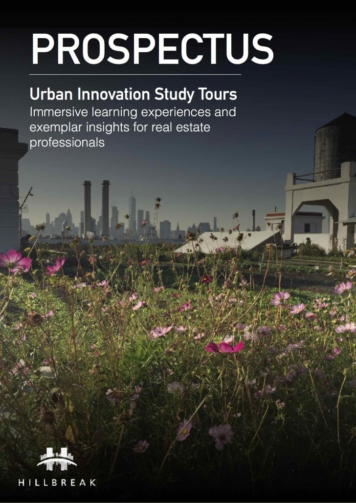 COVER Urban Innovation Study Tour Hillbreak Prospectus