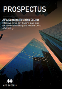 Autumn 2019 APC Success Courses