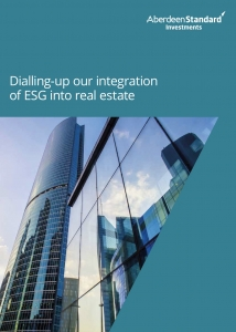 Dialling up our integration of ESG into real estate