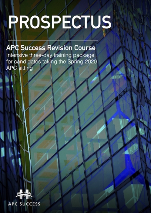 APC SUCCESS Spring 2020 Prospectus1